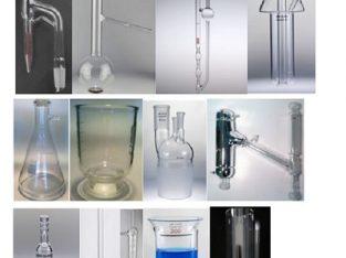 شیشه های آزمایشگاهی صنعت نفت گاز و پتروشیمی